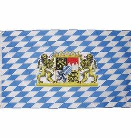 MFH Fahne, Bayern mit Löwen, Polyester, Gr. 90x150 cm