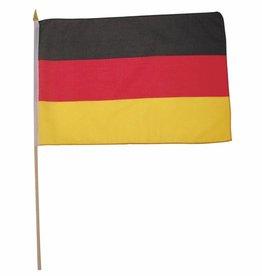 MFH Fahne, Deutschland, Polyester, Holzstiel, Gr. 30x45 cm