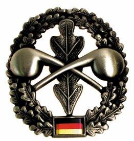 MFH BW Barettabzeichen, ABC-Abwehr, Metall