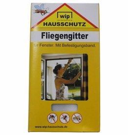 MFH Vliegenhor 'Wip' wit Befestigungsband 150x300 cm