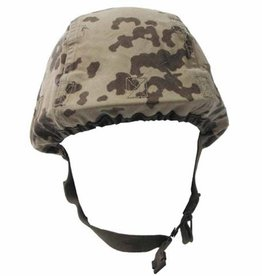 Original Army StahlHelm overtrek tropencamouflage gebraucht (set van 10)