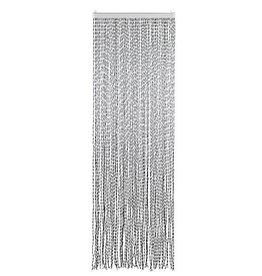 Arisol Arisol - Vliegengordijn - String - 60x90 cm - Zilver/Zwart