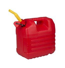 EDA EDA - Benzine jerrycan - Met tuit - 20 Liter - Rood