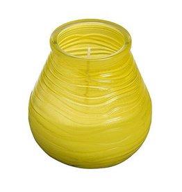 Bolsius Bolsius - Patiolight - Citronella - 40 Branduren - Geel