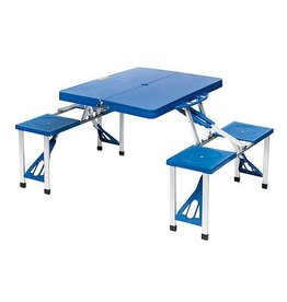 Camp Gear CA Picknick Set Basic blau