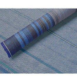 Arisol Arisol - Tenttapijt - Classic - 2,5 x 6 Meter - Blauw gespreept