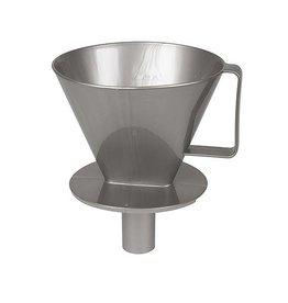 CampingMeister Kaffeefilter m/Tülle No.4 Silber