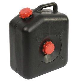 CampingMeister Afvalwatertank - 23 Liter - Zwart
