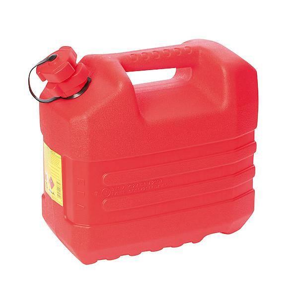 EDA EDA - Benzine jerrycan - Met tuit - 10 Liter - Rood