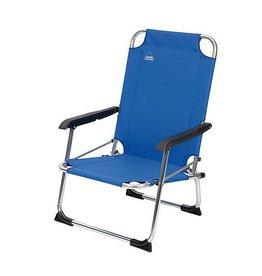 Camp Gear CA Chaise pliable basse 600D bleu