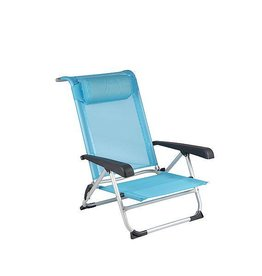 Red Mountain RM Chaise-plage Aluminium DeLuxe