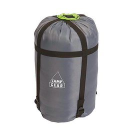 Camp Gear Camp-Gear - Slaapzak compressie bag - Medium - Ø 20 cm - Grijs