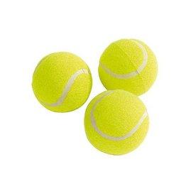 CampingMeister Tennisballen - 3 Stuks - Geel