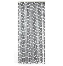 Arisol Arisol - Vliegengordijn - 'Kattenstaart' - 185x56 cm - Grijs/Wit