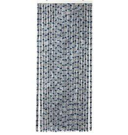Arisol Arisol - Vliegengordijn - 'Kattenstaart' - 220x90 cm - Grijs/Blauw