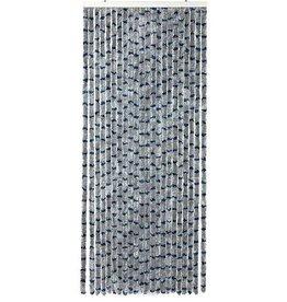 Arisol Arisol - Vliegengordijn - 'Kattenstaart' - 185x56 cm - Grijs/Blauw