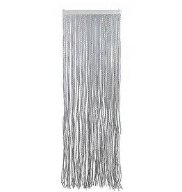 Arisol Arisol - Vliegengordijn - String - 220x100 cm - Grijs/Wit