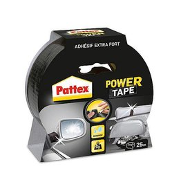 Pattex Pattex Power Tape Rolle schwrz 25mt