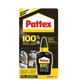 Pattex Pattex - Alleslijm 100% - Universeel - 50 Gram - Transparant