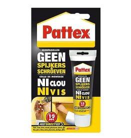 Pattex Pattex - Montagelijm - Geen spijkers, geen schroeven - 50 Gram
