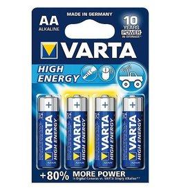 Varta Varta - Batterijen - AA Penlite - High Energy Alkaline - 4 Stuks