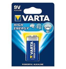 Varta Varta - Batterij - Blok E - High Energy Alkaline - 9 Volt