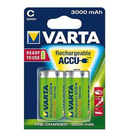 Varta Varta - Batterijen - Engelse staaf C - Oplaadbaar - 2 Stuks