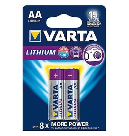 Varta Varta - Batterijen - AA Penlite - Lithium Professioneel - 2 Stuks