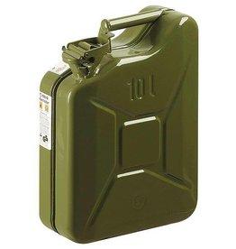 CampingMeister Benzine jerrycan - Metaal - 10 Liter - Groen