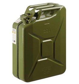 CampingMeister Benzine jerrycan - Metaal - 20 Liter - Groen