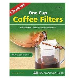 Coghlan's Coghlan's - Koffiefilters met houder - 40 Filters