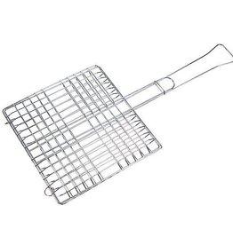 CampingMeister Barbecue grillrooster - Voor vlees - 30x30 cm