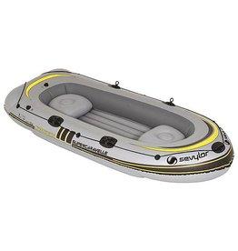 Sevylor Sevylor - PVC opblaasboot - Super Caravelle - 4-persoons - Grijs