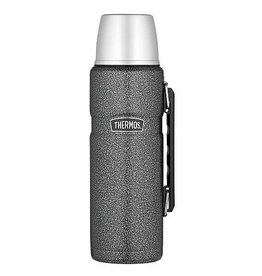 Thermos Thermos - Isoleerfles - King - 1,2 Liter - Hamerslag grijs
