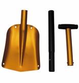 MFH Lawineschop aluminium 3-delig uitschuifbare steel