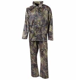 MFH Regenpak Polyester M 95 CZ Camouflage