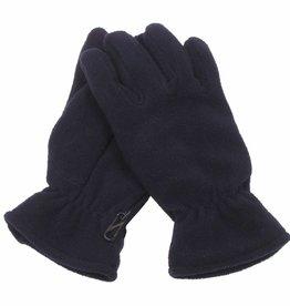 MFH Fleece vingerhandschoenen schwarz gevoerd
