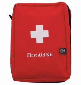 MFH EHBO kit groot rood 'MOLLE' 18 x 12 x 7 cm