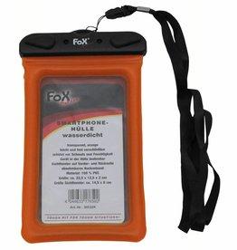 Fox Outdoor Smartphone houder waterdicht transparent orange