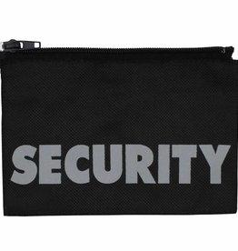 MFH Badge Security klein 17 x 11 cm met rits (set van 5)