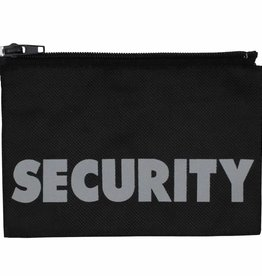 MFH Badge, Security, klein, 17 x 11 cm, met rits
