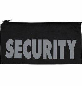 MFH Badge, Security, groot 27 x 13 cm, met rits
