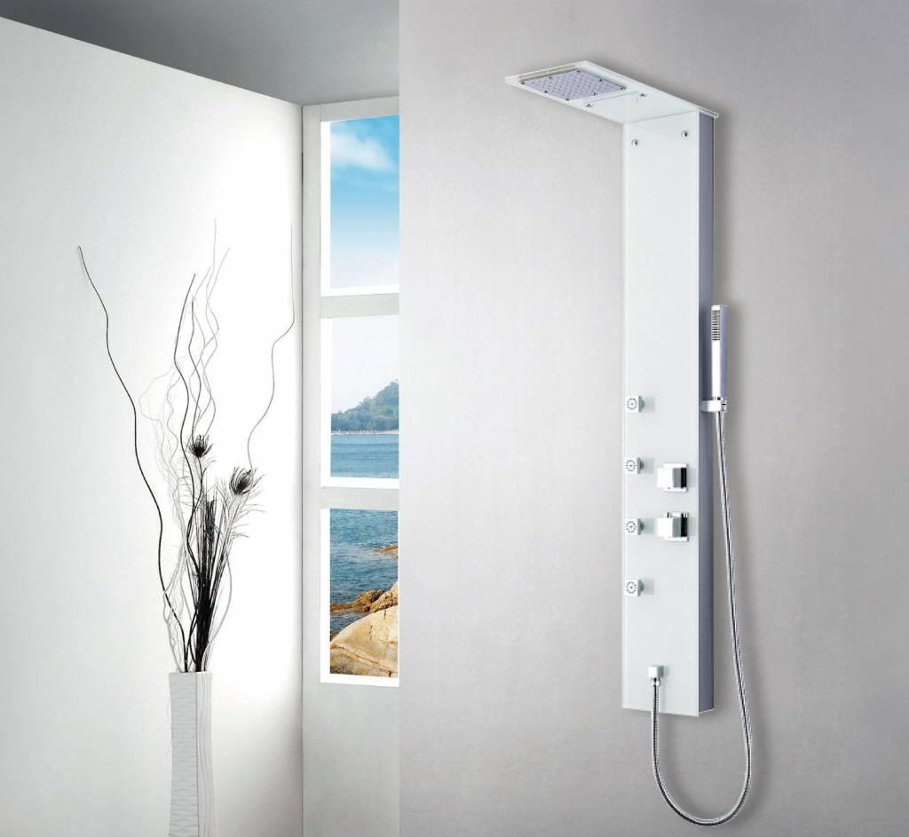 Een prachtig douchepaneel voor in elke badkamer