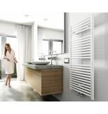 Elara design radiator wit 1185 x 600 midden/onder aansluiting