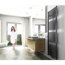 Elara design radiator antraciet 1817 x 600 midden/onder aansluiting