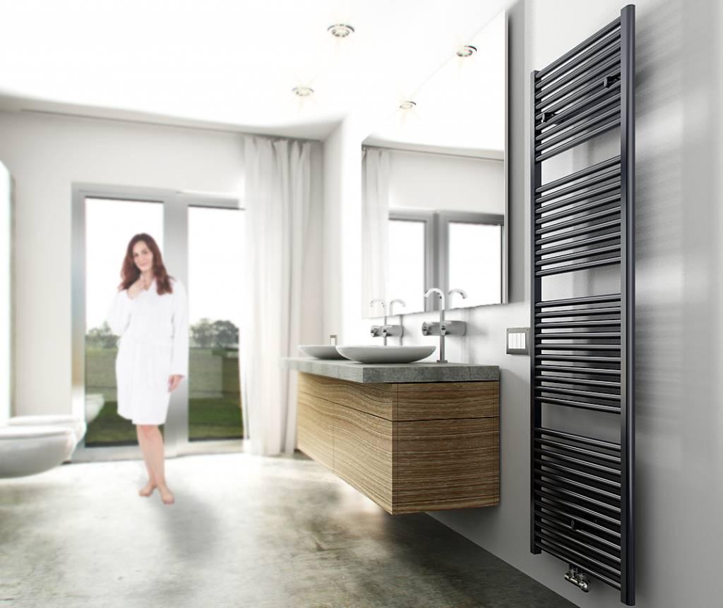 Elara radiator 181,7 x 60 cm 1067 Watt antraciet | Sanidream.nl