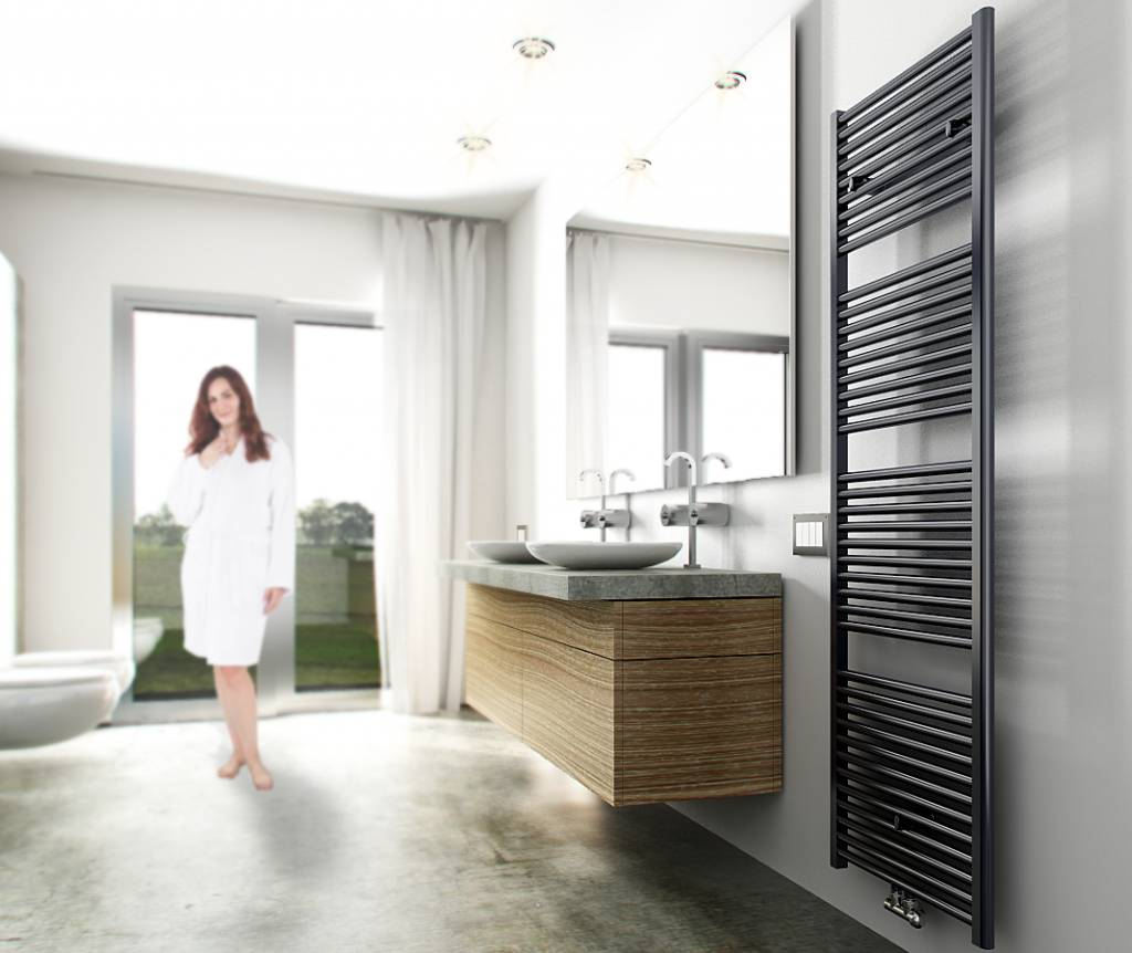 Elara radiator 181,7 x 60 cm 1067 Watt antraciet