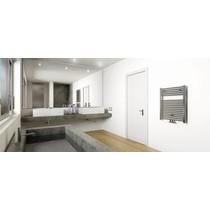 Elara design radiator chroom 766 x 600 midden/onder aansluiting