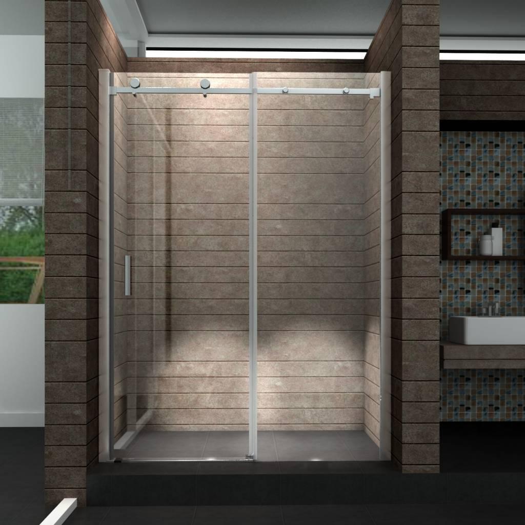 Een schuifdeur voor douche voor in uw badkamer - Badkamer foto met douche ...