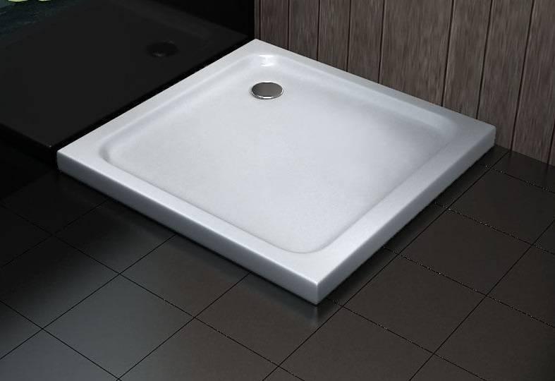 Douchebak voor een comfortabele douche sanidream